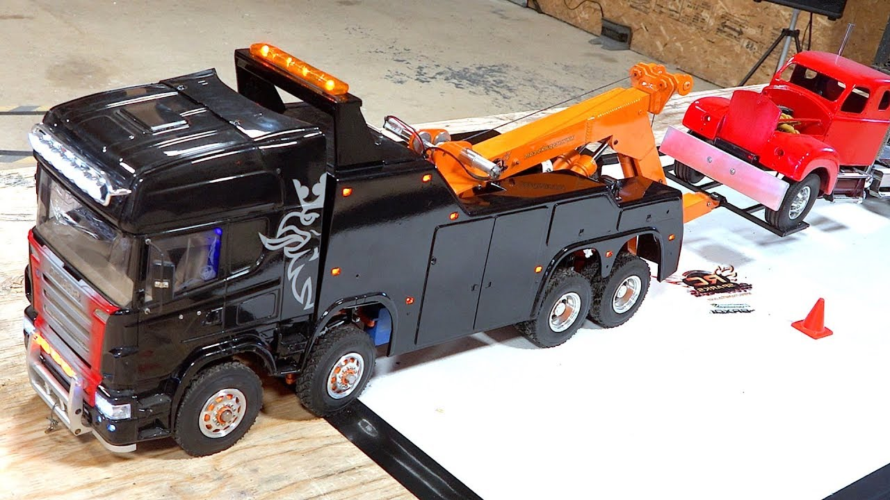 4 Years Later, I FINALLY FIXED IT! Scania 8×8 Recovery Tow Truck Comes Back to Life | RC ADVENTURES