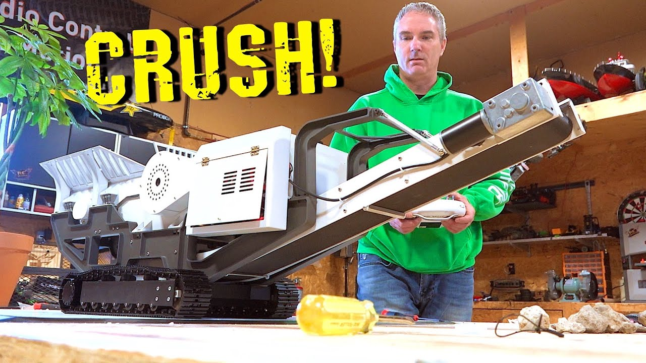 YouTube GOLD 2019 – MOBiLE MiNi ROCK CRUSHER! Build & Pulverize Rocks for FIRST TIME | RC ADVENTURES