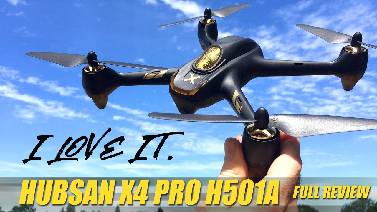 HUBSAN X4 AIR PRO H501A – New Waypoints & features! – FULL REVIEW