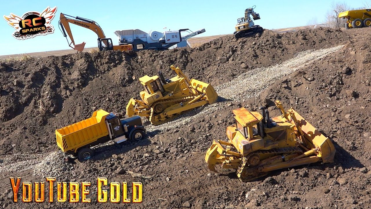 YouTube GOLD – the Bold Road Forward: Crush, Dump, Spread, Repeat (S2, E1) | RC ADVENTURES