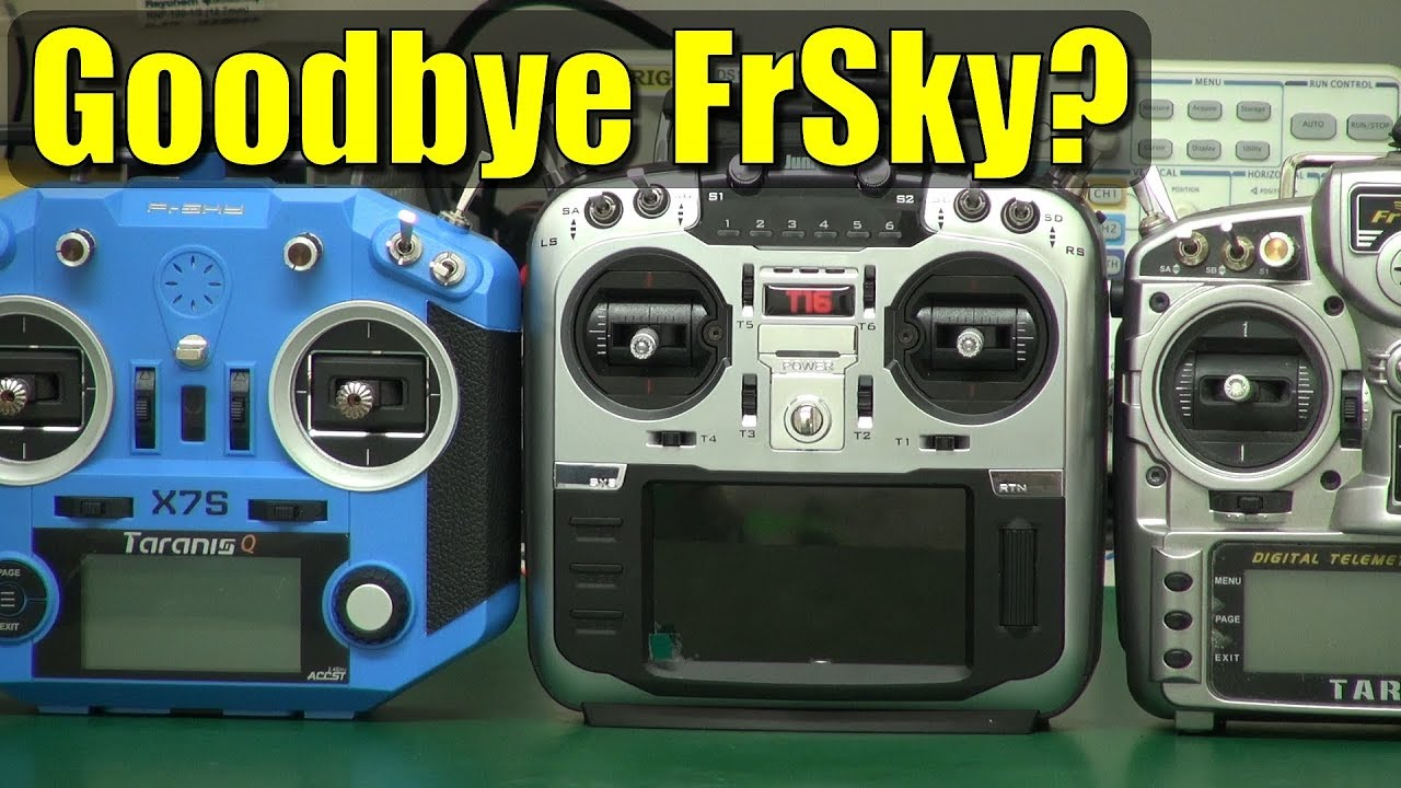 Jumper TX16 – now a serious FrSky competitor?