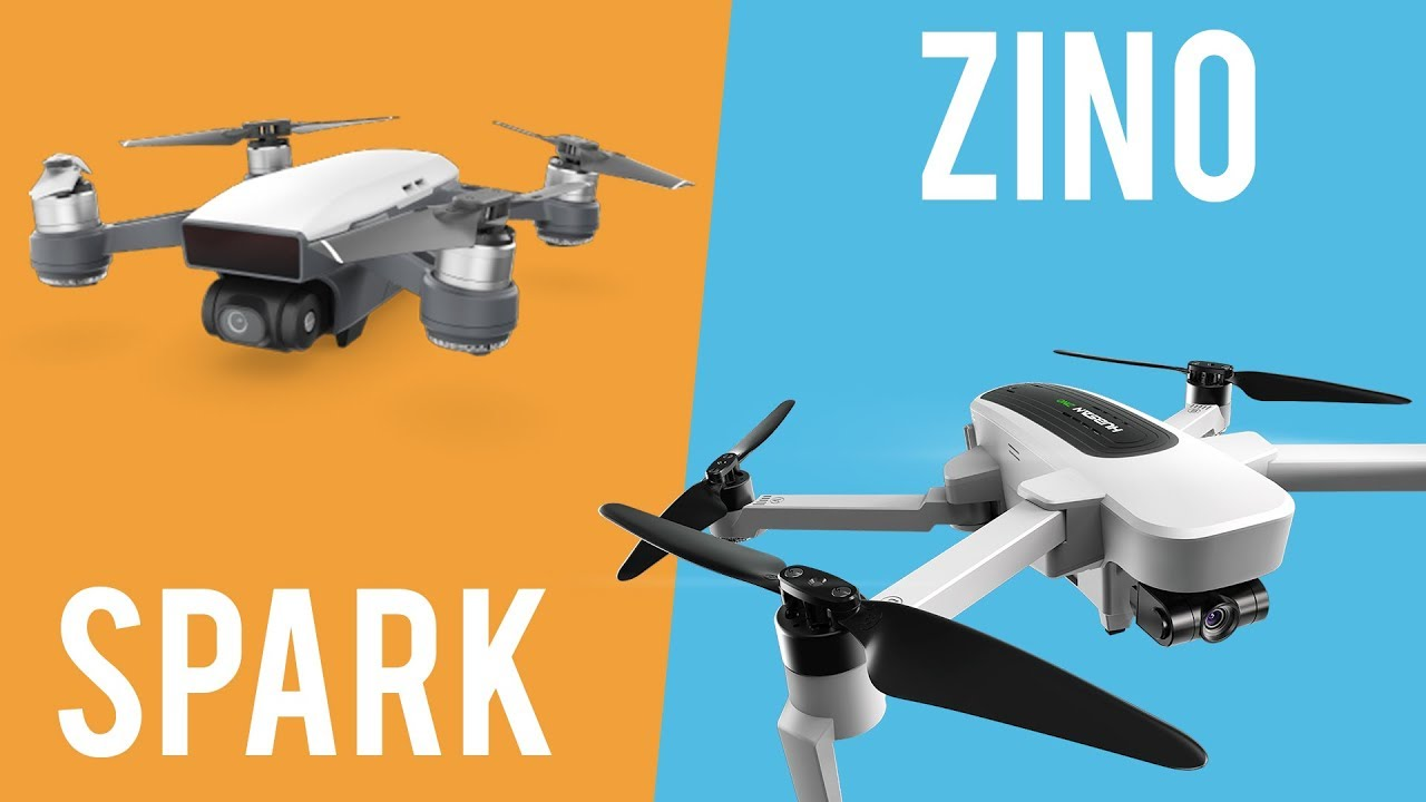 DJI Spark Vs Hubsan Zino full comparison – Video, flight modes and more