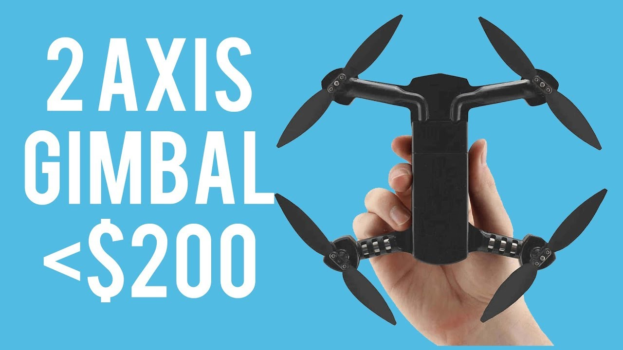 Micro drone 4.0 – 2 axis gimbal drone under $200