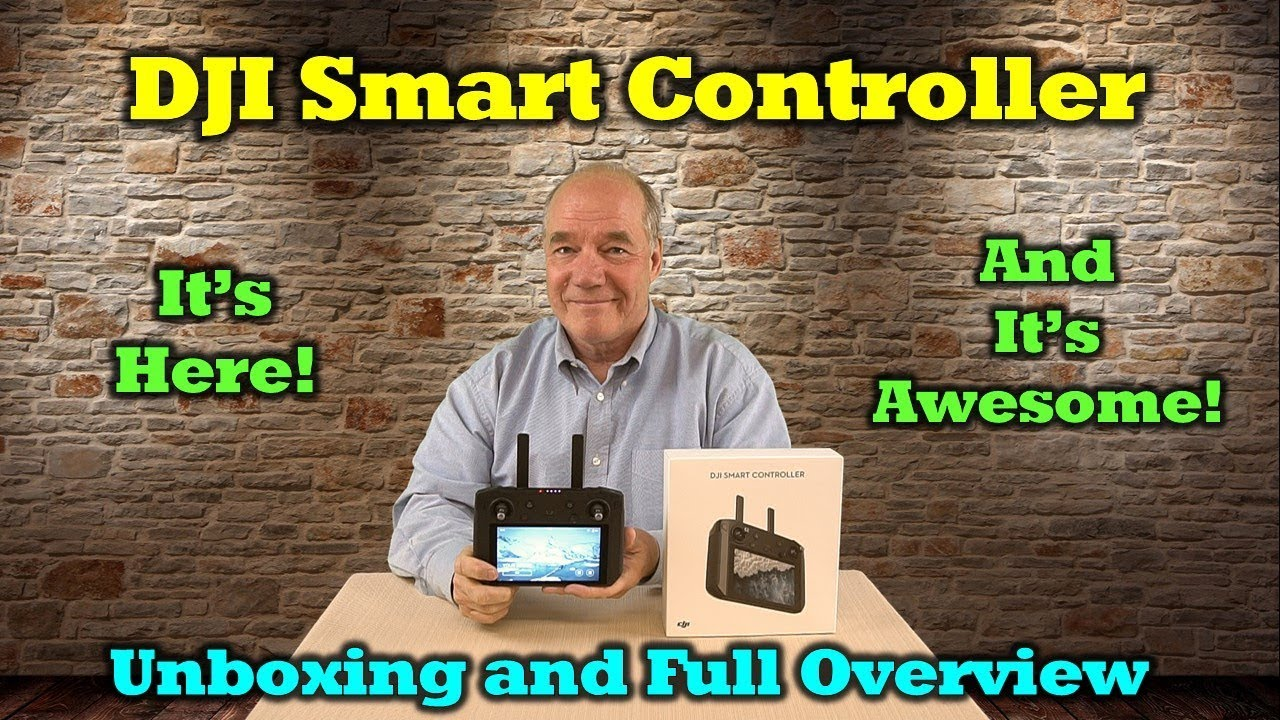 DJI Smart Controller First Look & Hands-on – Unboxing, Overview and Feature Review