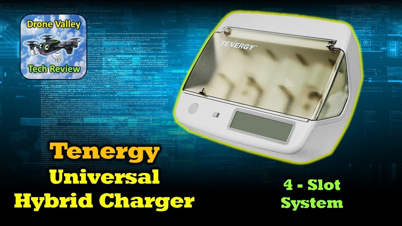 Tenergy TN299 Universal Battery Charger – It Charges Everything!