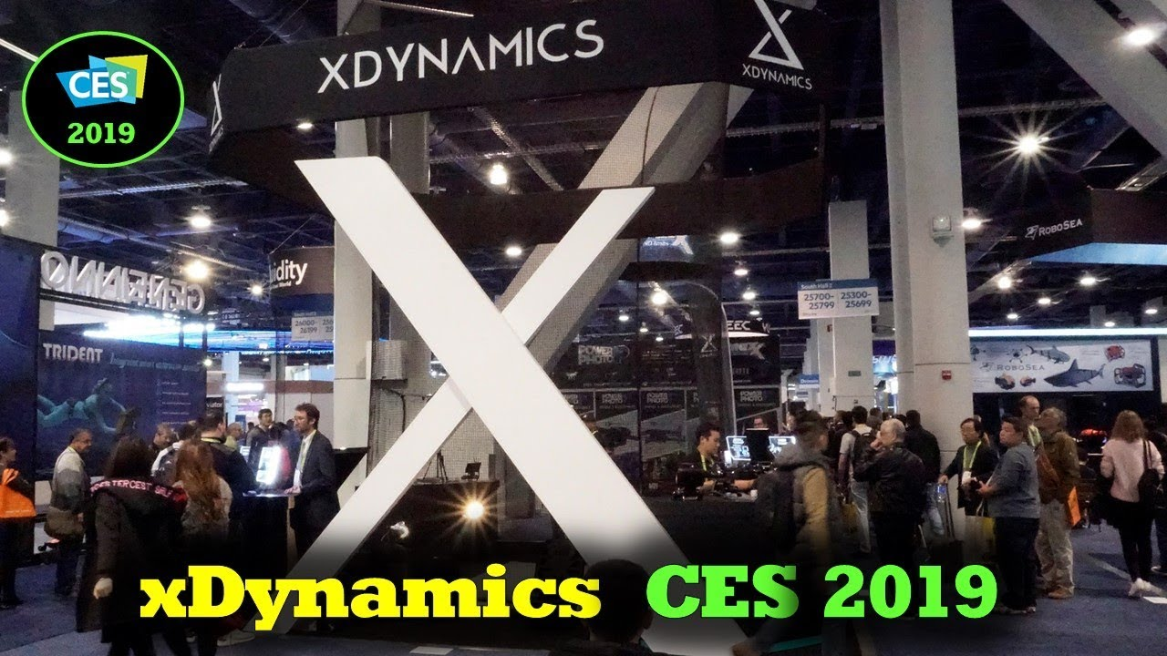 CES 2019 – xDynamics Interview and Evolve Drone Discussions