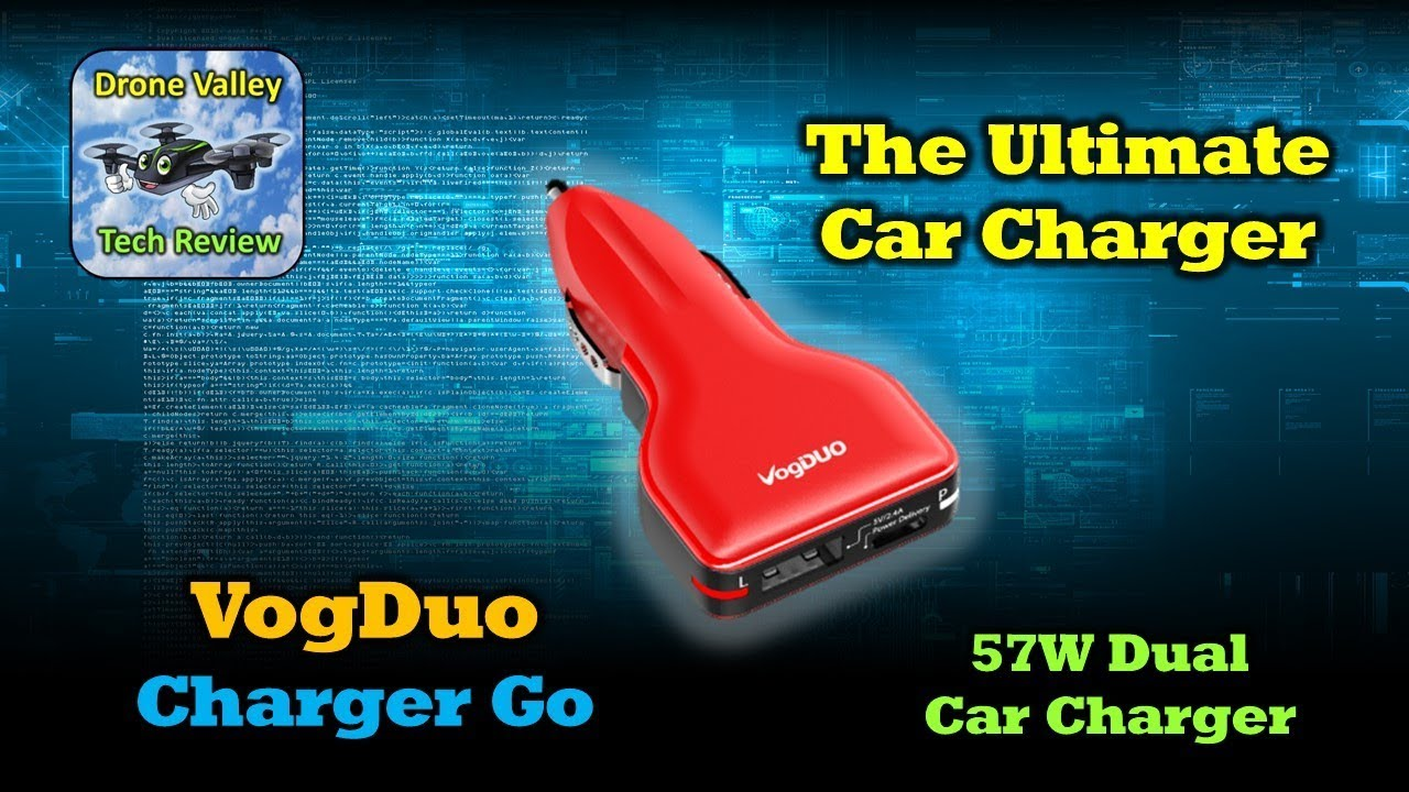 The Ultimate Car Charger – VogDuo 57W Charger Go