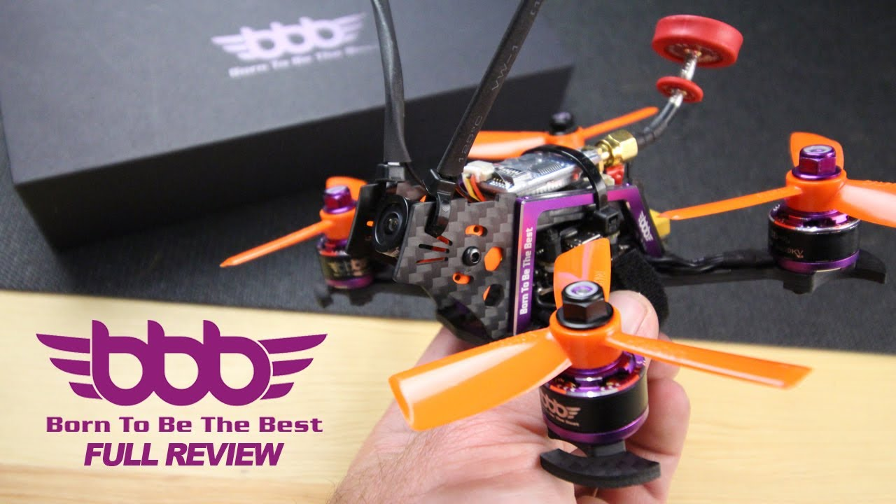 BBB 3B-R Mini 128mm Quadcopter – Full Review and Flight