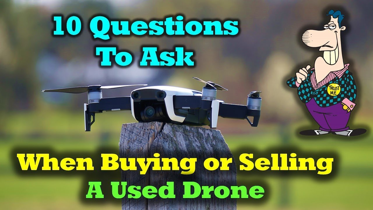 Don't Buy A Used Drone Before Watching This Clip