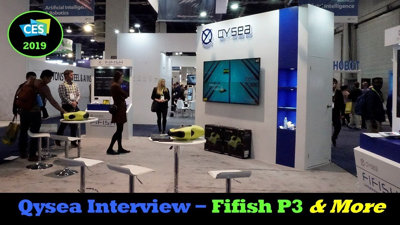 CES 2019 – Qysea Interview and New V6 Product Details