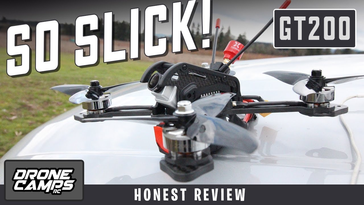SO SLICK! – DTS GT200 Fpv Race Quad – Honest Review, Flights, & Setup