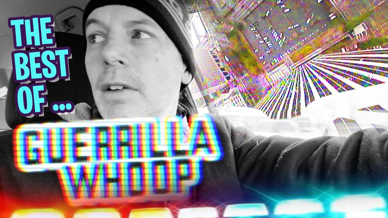 GUERRILLA WHOOP Best Of BUILDING DIVES, TRAINS, THE MALL, & WALMART with 25MW!