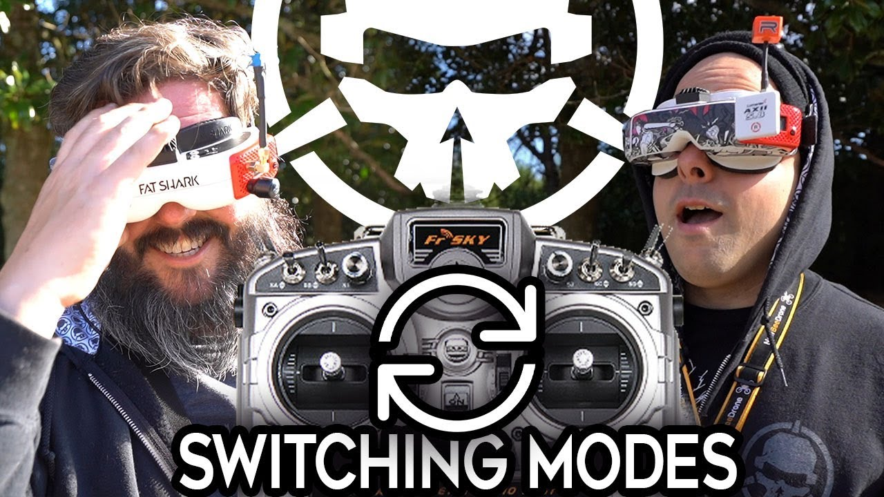 Switching Our Controls! Flying Different Modes