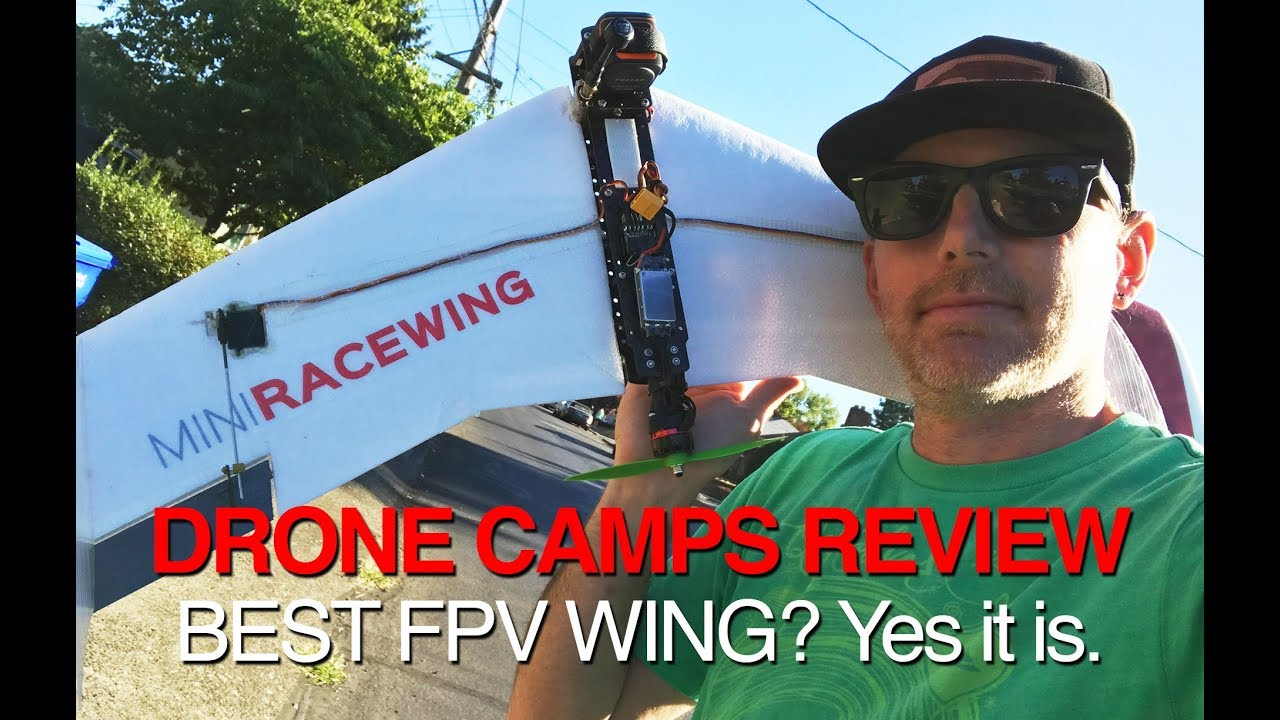 FLYBOT Mini Race Wing – BEST FPV RACE WING – Review & Hard Crashes!