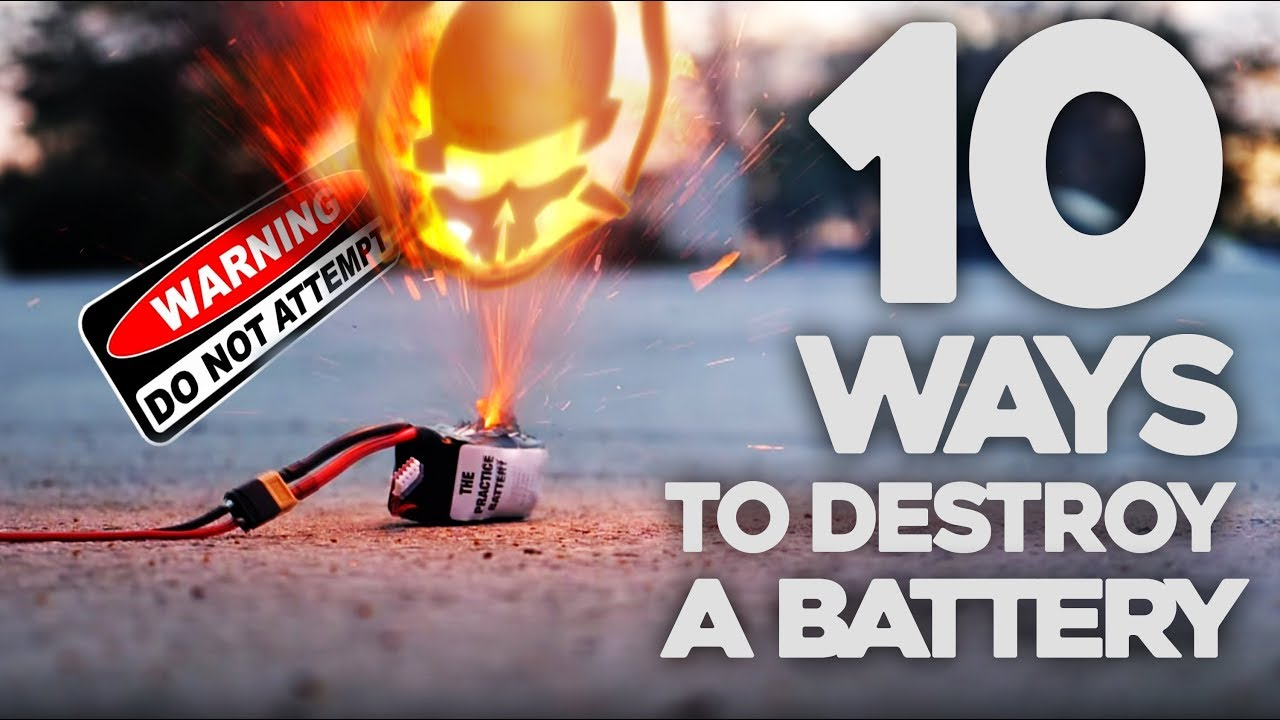 10 Ways to DESTROY Your Batteries