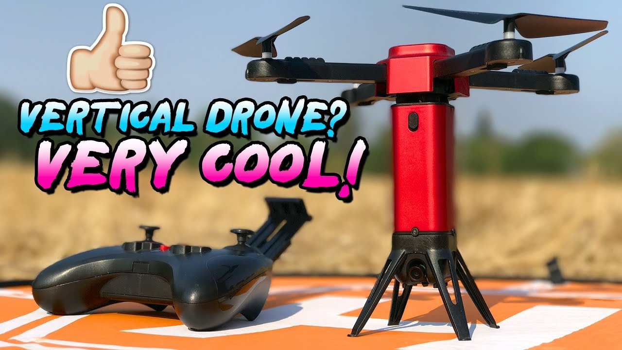 VERTICAL Takeoff Drone w/ Object Avoidance – VERY COOL! – L6059W FULL REVIEW
