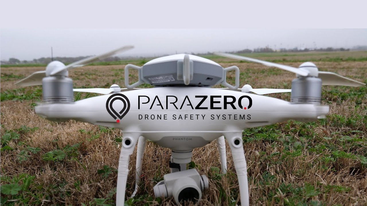 Drone Parachute Drop Test With ParaZero SafeAir Phantom