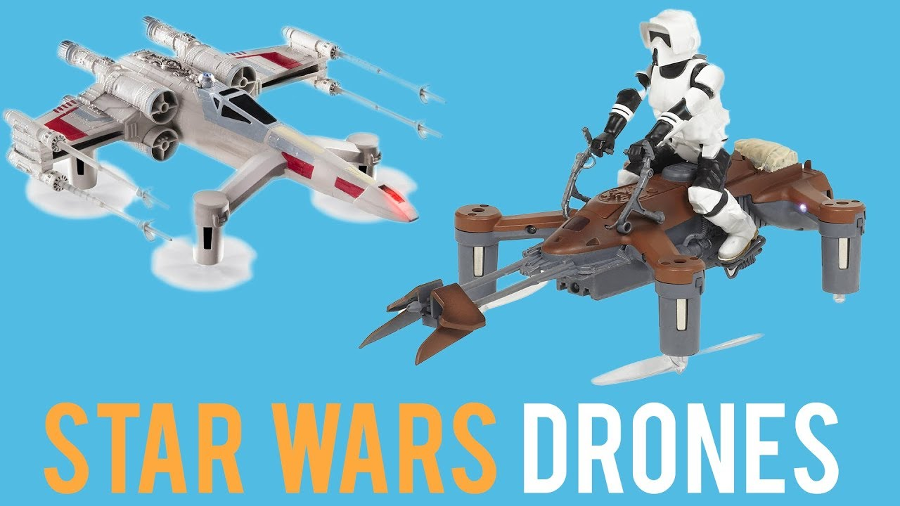 Propel Star Wars Drones Review – collectors edition (really good)