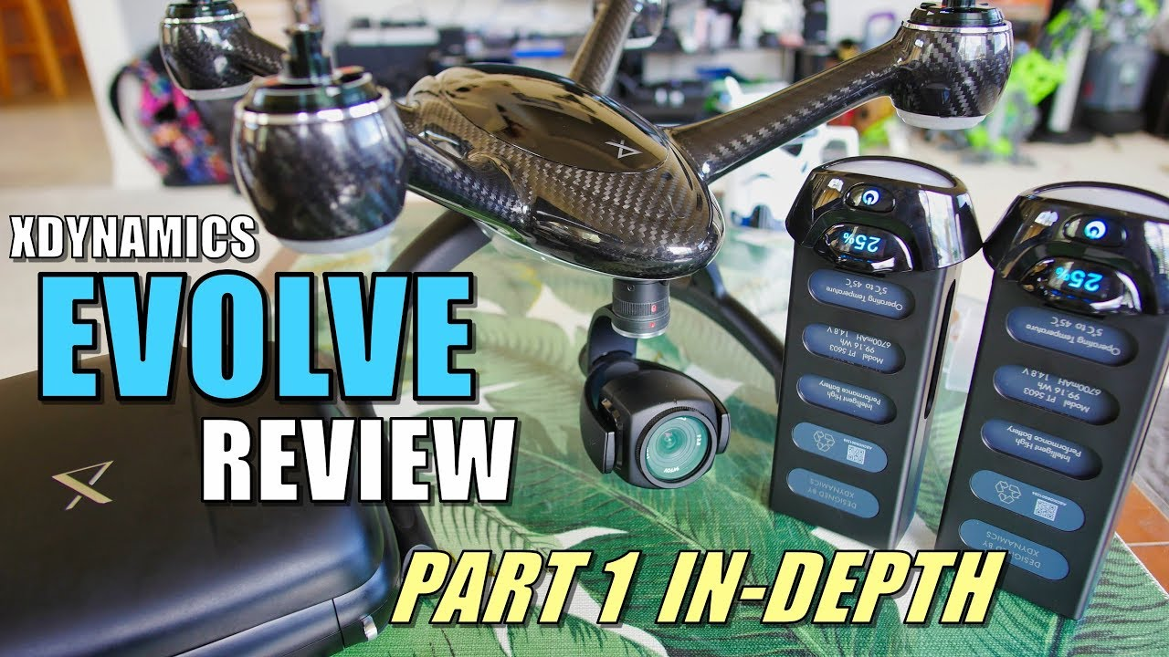 Xdynamics EVOLVE Drone Review – Part 1 – [In-Depth Unboxing, Inspection, Setup, Pros & Cons]