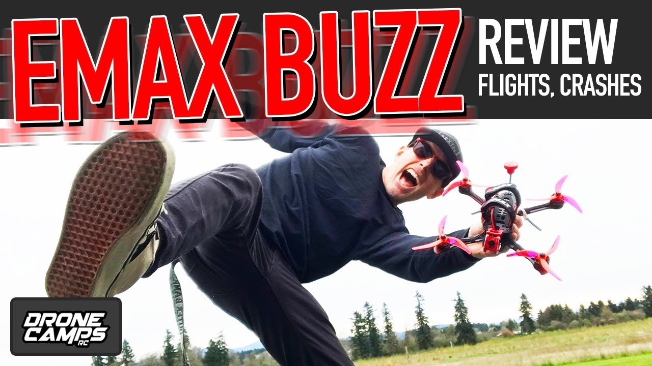 FREAKING AMAZING! – EMAX BUZZ – Freestyle Quad Review, Flights, & Crashes