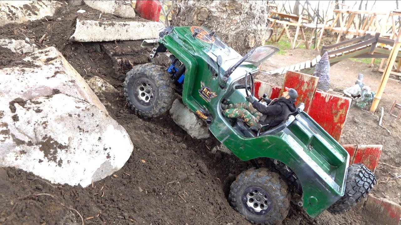 AFTER 2.5 YEARS, I fire up the Jeep Willy & Patrol the Backyard Trail Course | RC ADVENTURES