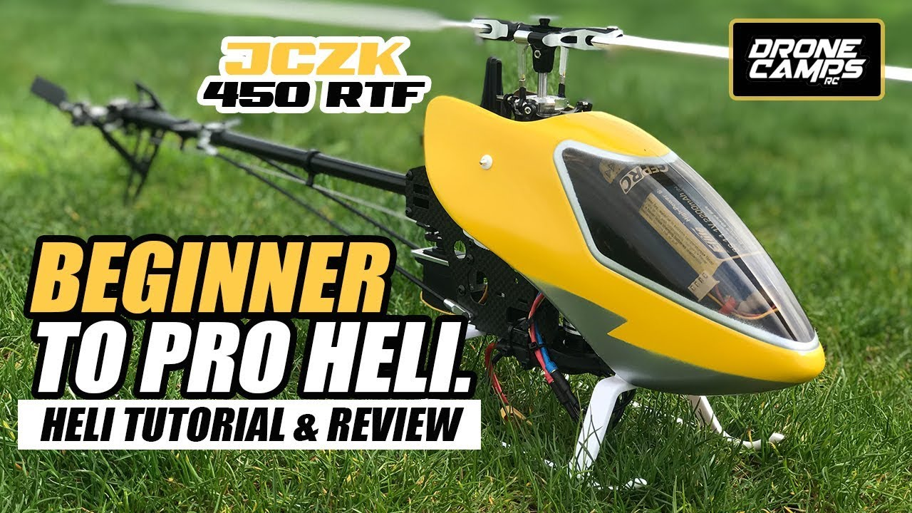BEGINNER RC HELICOPTER – JCZK 450 DFC! – How to Tutorial & Review