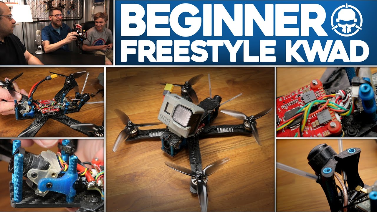 Beginner Freestyle Kwad – From the ground up!