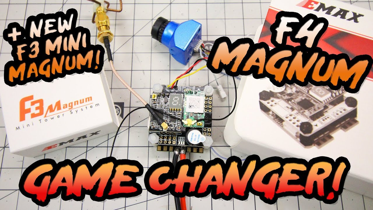 BEST FLIGHT CONTROLLER EVER? – Emax F4 Magnum Review & *F3 Mini Magnum Preview