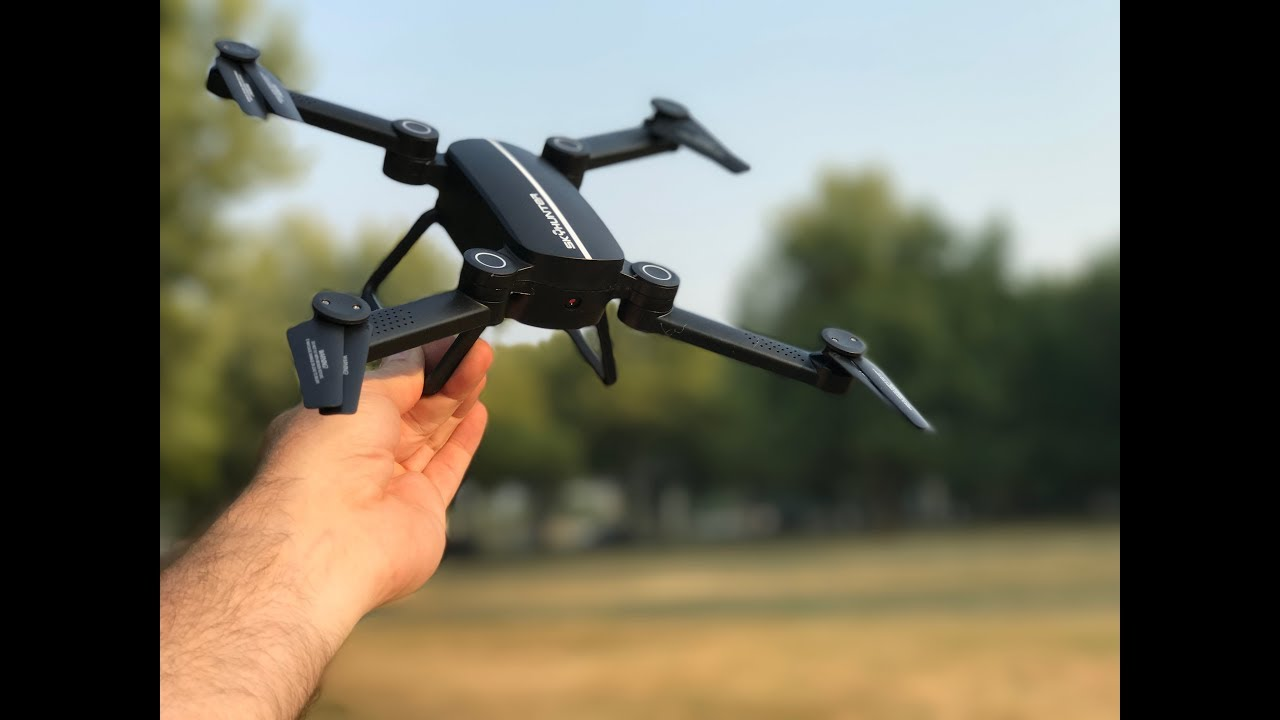 BEGINNER DRONE with FPV – X8TW SKYHUNTER Foldable RC Pocket Drone