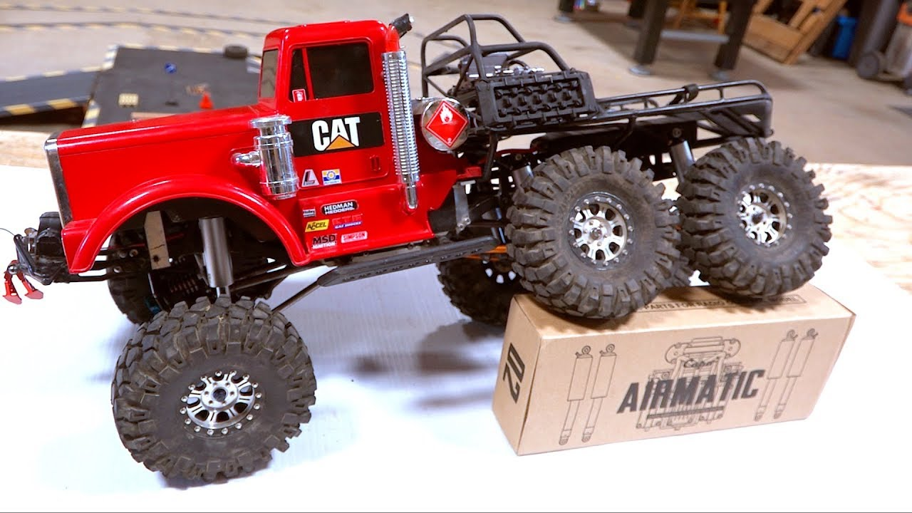BIG RED 6×6 PETERBILT: Air Ride Suspension – Capo Racing Modded Airmatic System | RC ADVENTURES