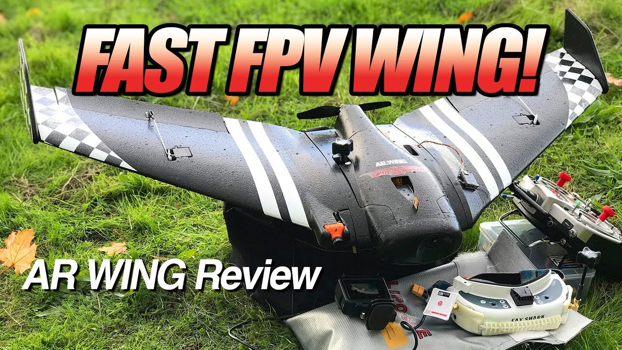 BEST Beginner FPV Wing? – SonicModell AR Wing – LOS, FPV, and Review