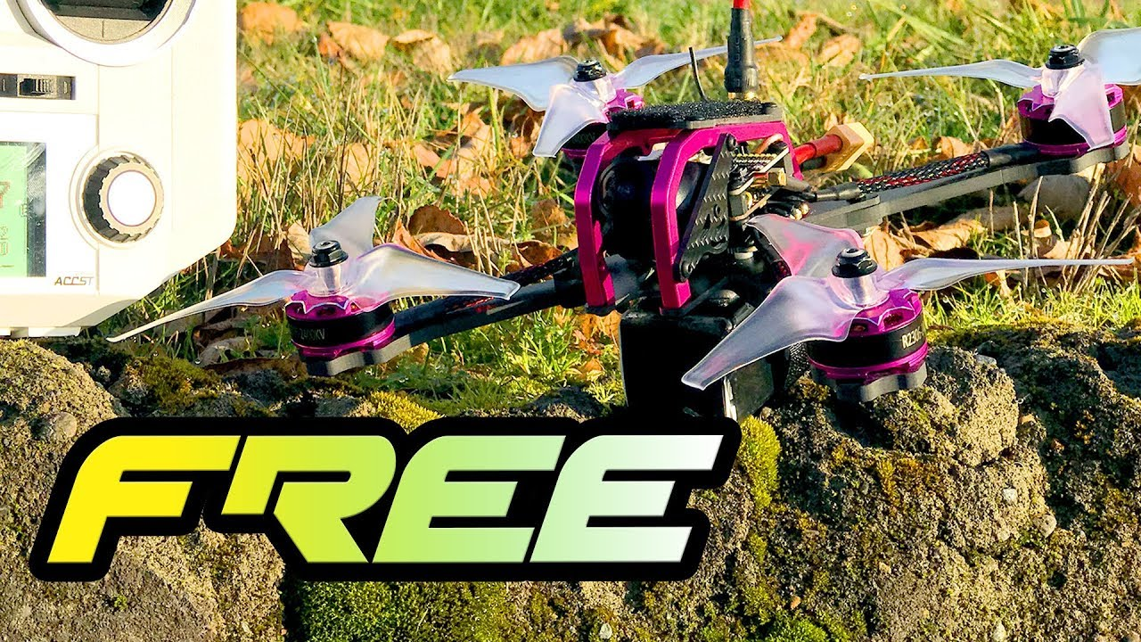 FREE DRONE – Furibee GT215 Fire Dancer [  2306 Motors / 35A ESCS/ FrSky RX ]