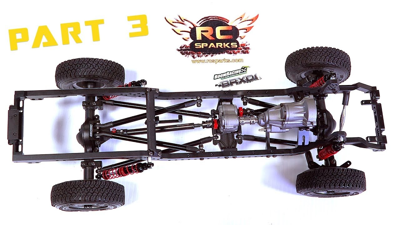 Building the Premium Toyota LC70 Land Cruiser BRX01 Boom Racing Truck   Video 3 | RC ADVENTURES