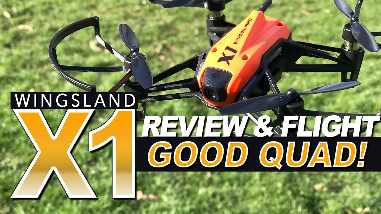 GOOD QUAD! – Wingsland X1 – Review, LOS, FPV Flights, Pros & Cons