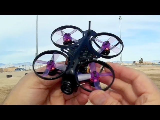 Makerfire Armor 85 HD DVR FPV Brushless CineWhoop Drone Flight Test Review