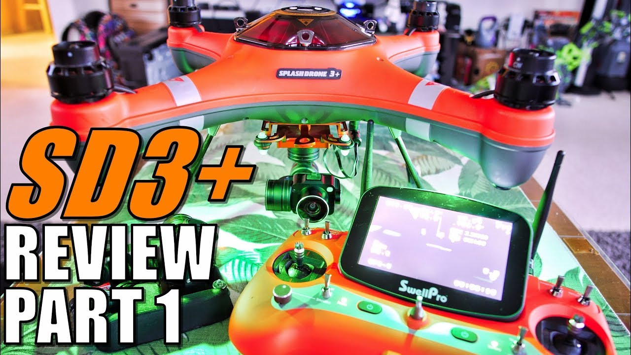 SwellPro Waterproof SPLASH DRONE 3+ Review – Part 1 – Unboxing, Inspection, Setup