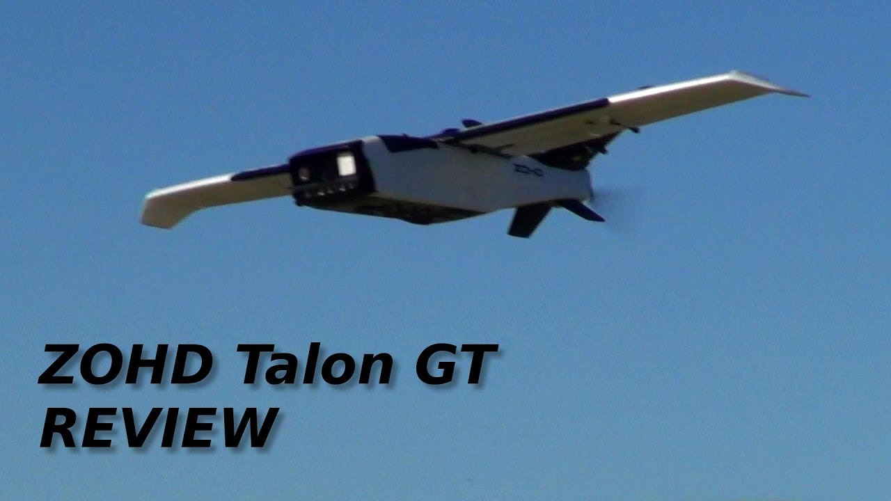 ZOHD Talon Rebel GT FPV RC plane review
