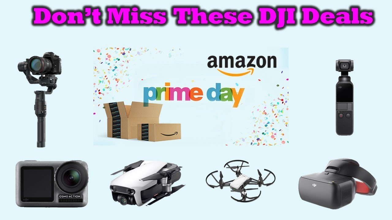 Great Discounts on DJI Gear During The Amazon Prime Member Event This Week – Details Inside!