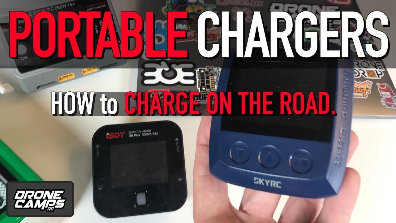 PORTABLE LIPO CHARGERS – How to charge on the road