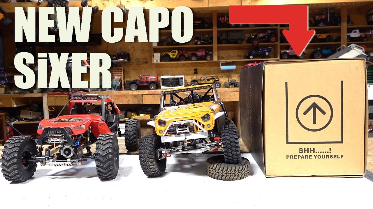 NEW RELEASE! UNBOXING the CAPO SiXER 1/6 Scale SAMURAI 4×4 TRAIL TRUCK Build Kit | RC ADVENTURES