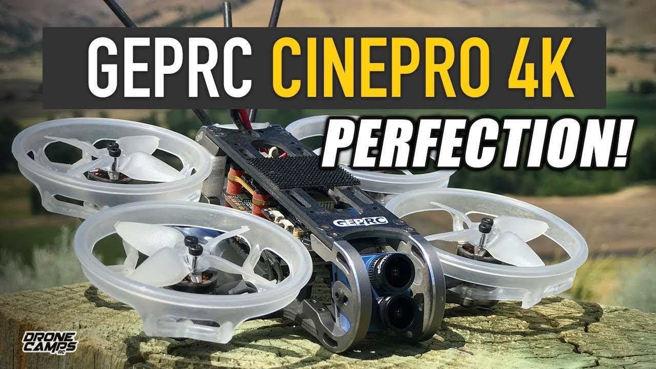 4K PERFECTION! – GEPRC CINEPRO 4K F7 Quad – EPIC REVIEW & CANYONS!