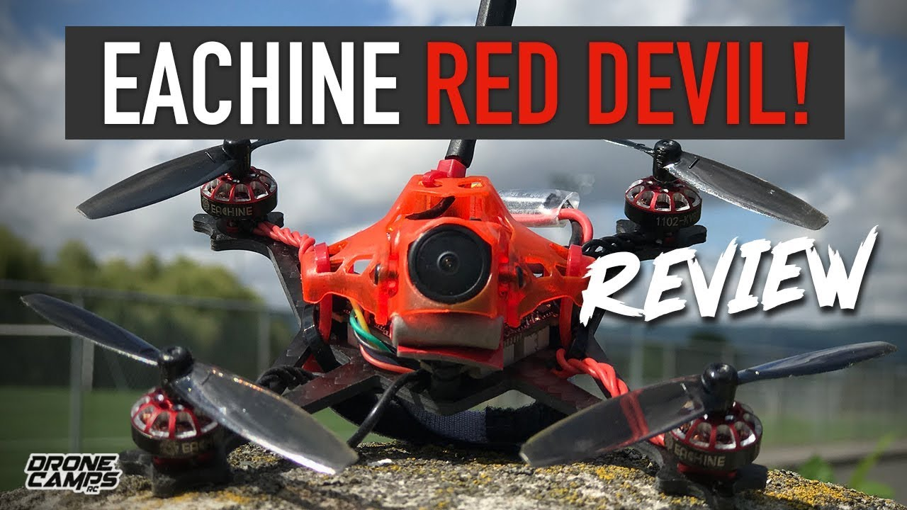 LITTLE DEVIL! – Eachine Reddevil Toothpick 3S Fpv Quad – FULL REVIEW ??