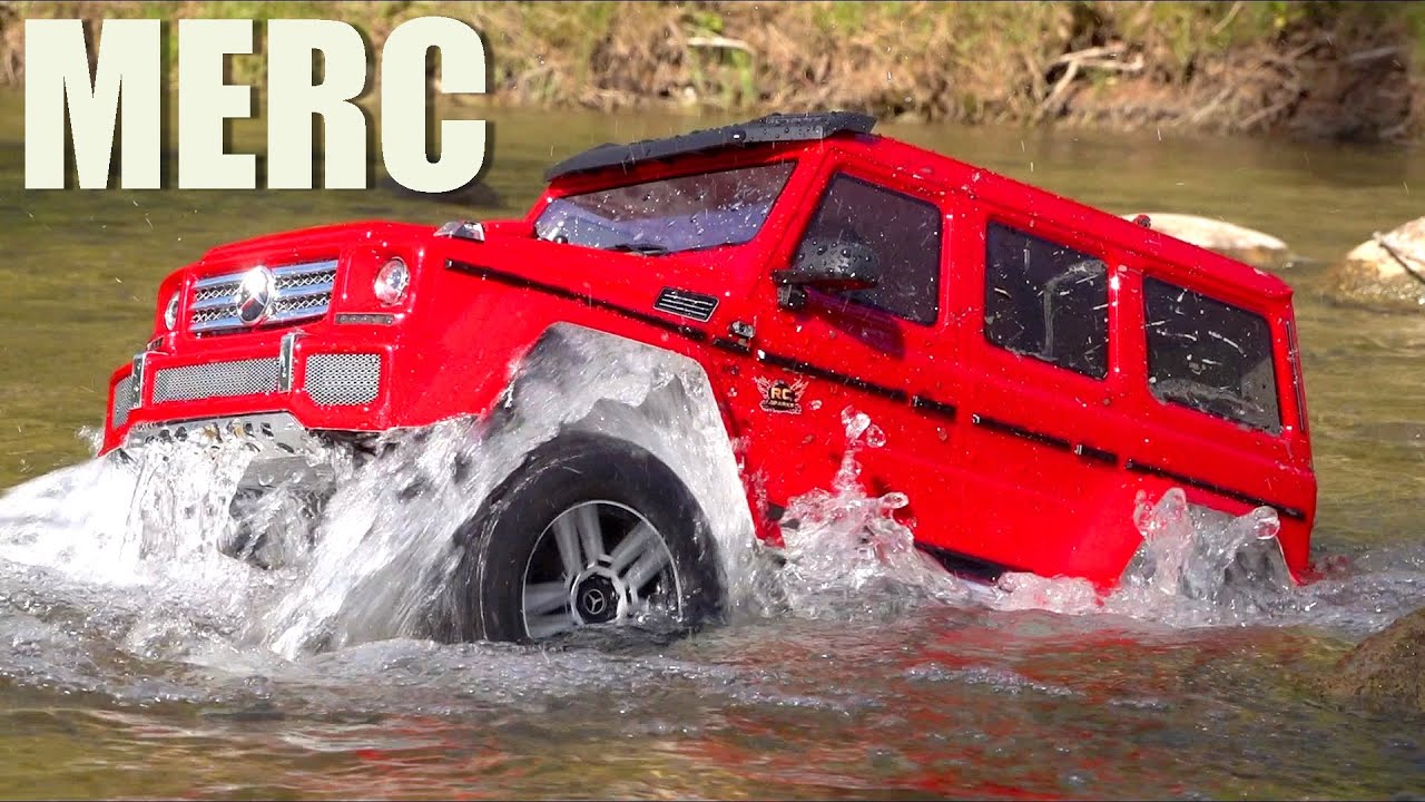 TRAXXAS MADE A MERCEDES? A G500 BENZ TRX4! | RC ADVENTURES
