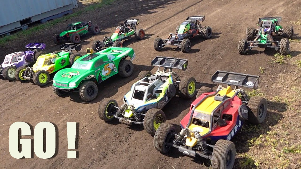 """2019 """"BiG DIRTY"""" OPEN TRACK FINALS MIXED BUGGY LARGE SCALE Offroad Highlights (PT 3) 