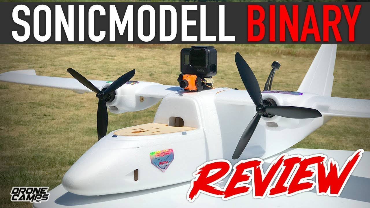 Sonicmodell BINARY Twin Engine – Long Range Fpv Plane – FULL REVIEW & FLIGHTS