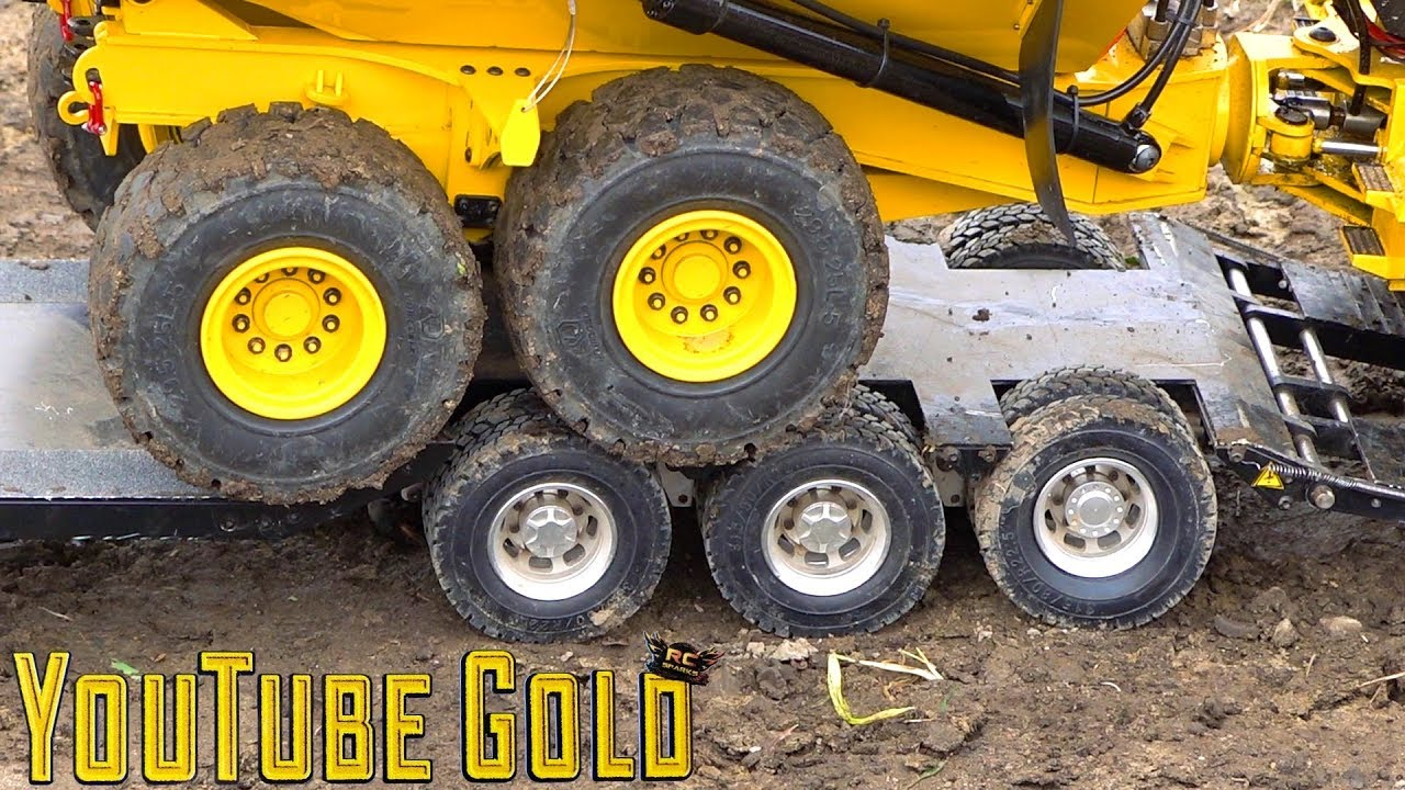 YouTube GOLD – ROADS PAVED with GOLD!  A Miniature Mining Show (s2 e9) | RC ADVENTURES