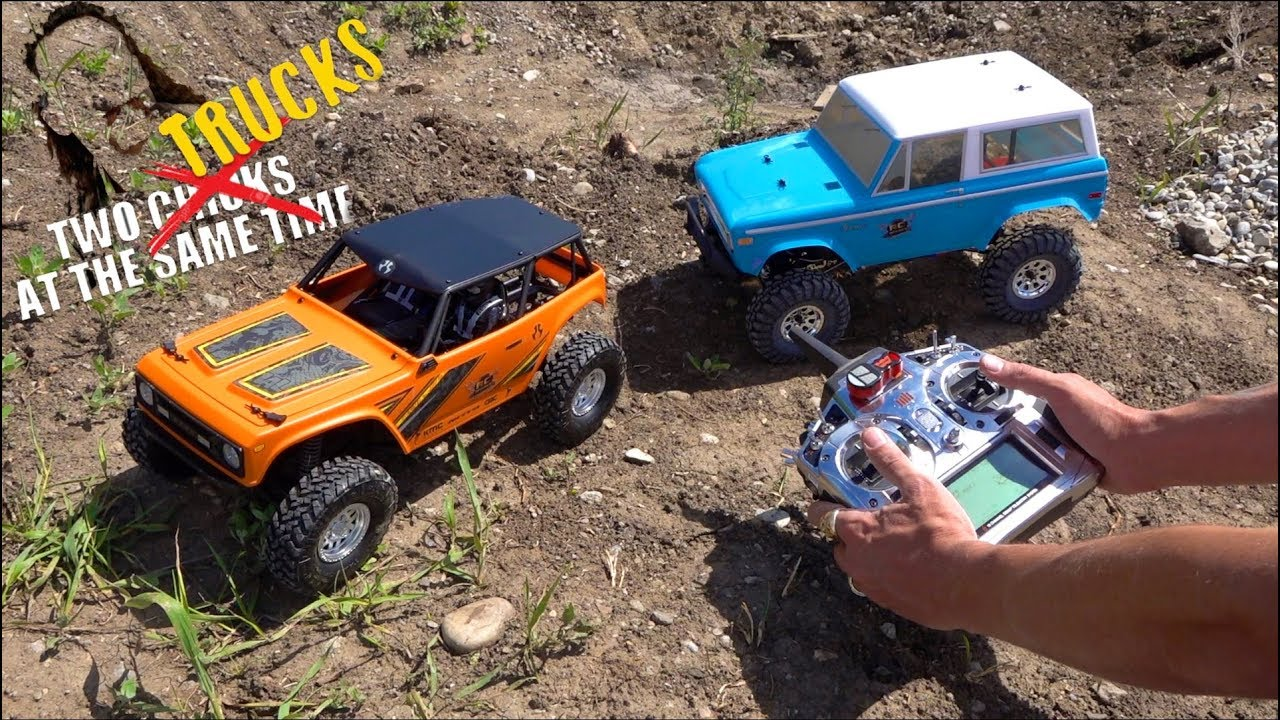 DRIVING 2 AT THE SAME TIME with 1 RADIO | RC ADVENTURES