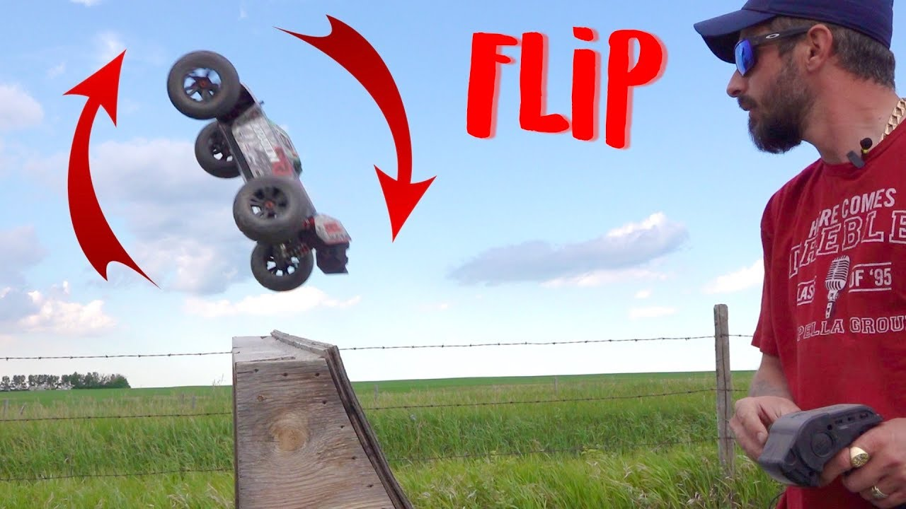 How to Back Flip, Front Flip, Superman & Land | RC ADVENTURES