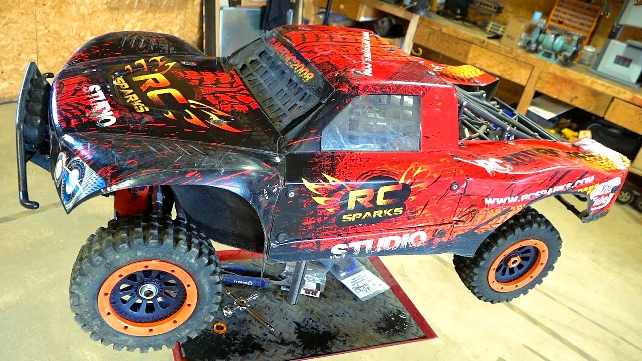 "PROJECT: LARGE 2.0 ""REVITALIZATION"" LOSI 5T 4×4 TURTLE RACING ARMS 