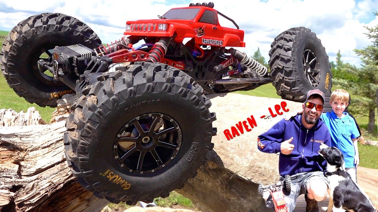 DO THESE TIRES WORK? WE GET A PUP!  | RC ADVENTURES